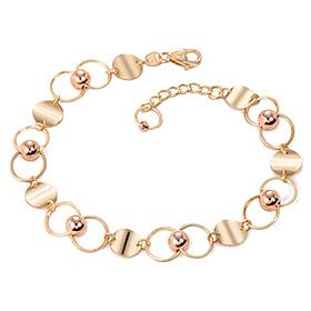 14k / 18k bubble bracelet