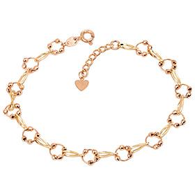14k / 18k ring bead bracelet