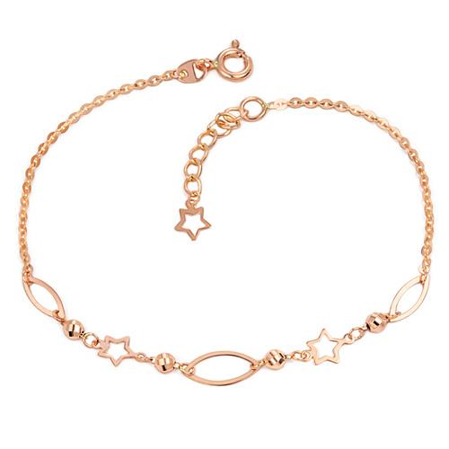 14k / 18k luna star bracelet