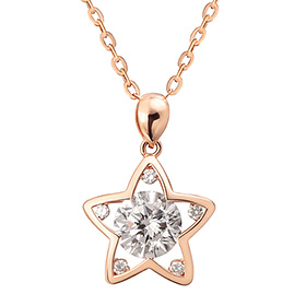 14K / 18K Dilight Star Necklace