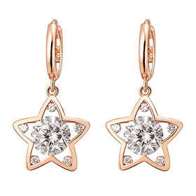 14K / 18K Dilight Star Earring