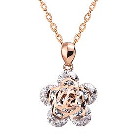 14K / 18K Rose River Necklace
