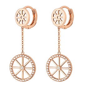 14K / 18K water mill earring