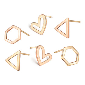 14K Juicy Shape Earring