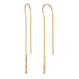 14K / 18K Oederia Long Earrings