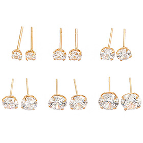 14K romance earring (6 types 1) [overnightdelivery]