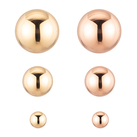 ♣ NORMAIN special price ♣ 14K shine ball earring [overnightdelivery]