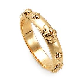 14K / 18K R173 Min Rosary Ring