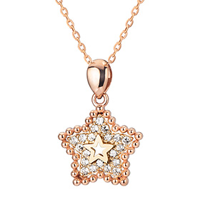 14K / 18K Winnie Star Necklace