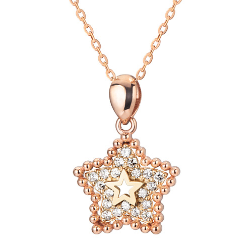 14K / 18K Winnie Star Necklace
