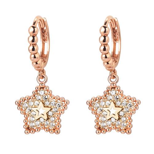 14K / 18K Winnie Star earring