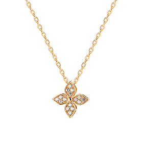 14K / 18K Wind Flower Necklace