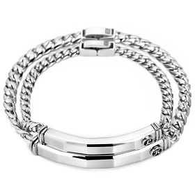Dick chocolate diamond couple bracelet [men, women pair price]