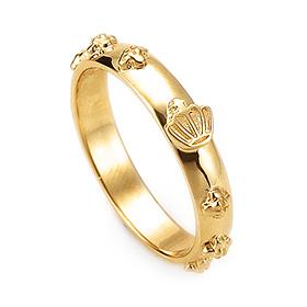 14K / 18K R178 Min Rosary Ring