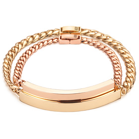 14k / 18k dessert diamond couple bracelet [men, women pair price]