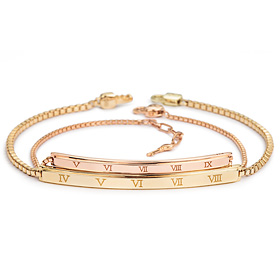 14k / 18k Arabia diamond couple bracelet [men, women pair price]