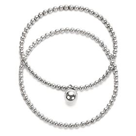 Silver big bubblebiz bracelet [overnightdelivery]