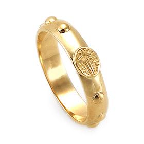 14K / 18K R182 Min Rosary Ring