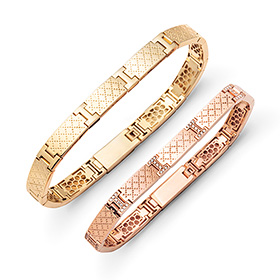14k / 18k ply diamond couple bracelet [men, women pair price]