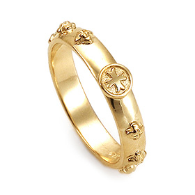14K / 18K R185 Min Rosary Ring