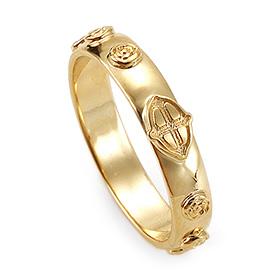 14K / 18K R188 Min Rosary Ring