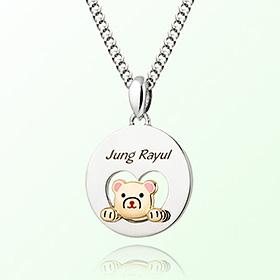 Open Heart Petite Bear Character