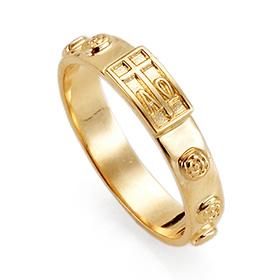 14K / 18K R192 Min Rosary Ring