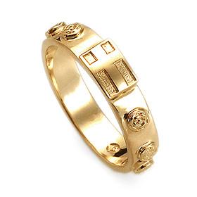 14K / 18K R193 Min Rosary Ring