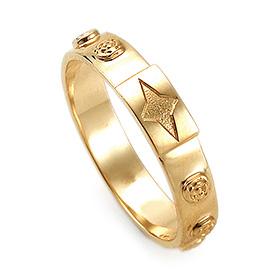 14K / 18K R194 Min Rosary Ring