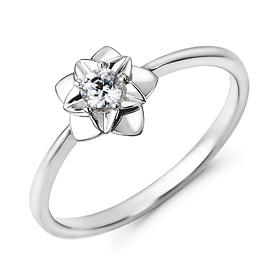 "<b><font color=""b400b0"" >[Part 1 Contemporary Emotion]</font></b> <br> 14k / 18k Star Hen Night Part 1 Diamond Ring"