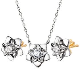 14K / 18K Star Hen night set [Necklace + earring]