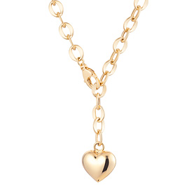 14k / 18k Love hollow (medium) Necklace