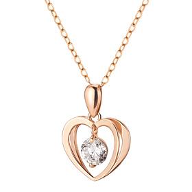 14K / 18K Pure Heart Necklace [overnightdelivery]