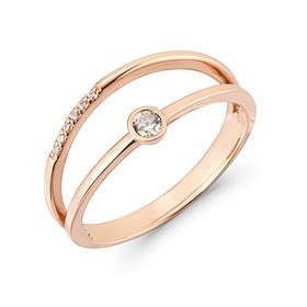 14k / 18k twill ring