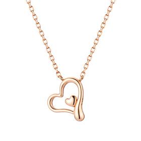 14K / 18K Peeling Love Necklace