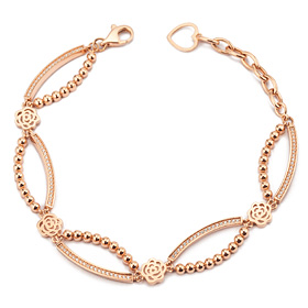 14k / 18k rose queen bracelet