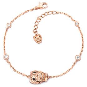 14K / 18K Lily Owl bracelet