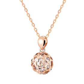 14K / 18K Prison Rose Necklace [overnightdelivery]