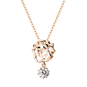 14K / 18K Sweet Rose Necklace