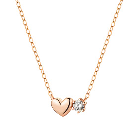 14K / 18K Cheung Heart Necklace