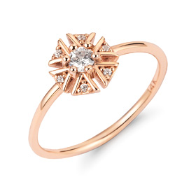 14k / 18k Wish Flower ring