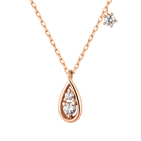 14K / 18K Twinkle Drop Necklace