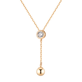 14K coring ring Necklace (overnightdelivery)