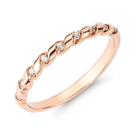 14k / 18k twisted ring