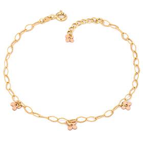 14k / 18k Leaf Clover bracelet