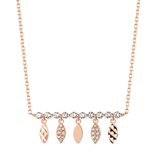 14K / 18K Reeves Charm Necklace