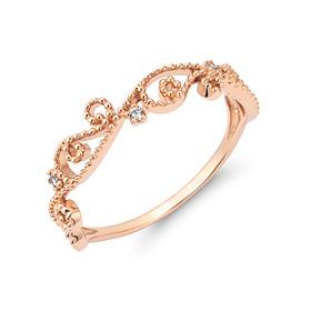 14K / 18K antique tiara ring