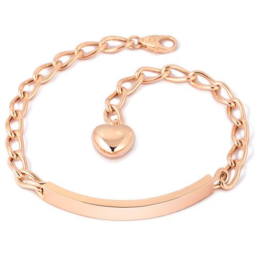 14k / 18k wave bar (large) bracelet