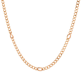 14K / 18K Bamboo Hollow Necklace Chain