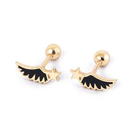 14K Black Swan Piercing